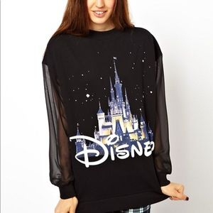 Authentic Disney long shear sleeve Sweatshirt